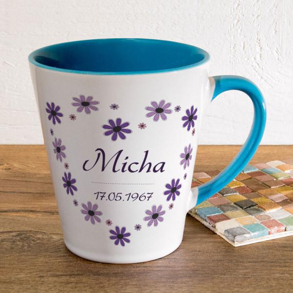 Personalisierte Tasse FUNNY Latte klein für Männer