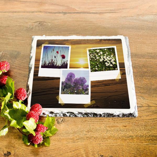 Granitplatte mit Ihren Lieblingsfotos zum Geburtstag