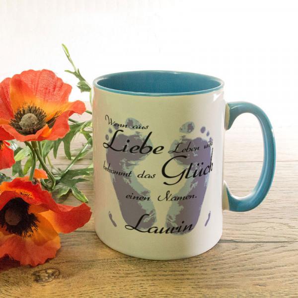 Tasse mit Wunschmotiv für Kinder