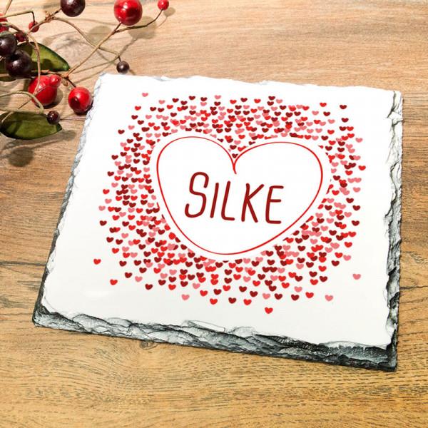 Granitplatte mit Ihrem Wunschmotiv für Frauen