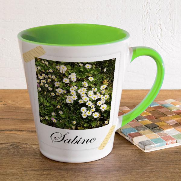 Tasse FUNNY Latte klein mit Ihrem Fotomotiv zum Muttertag