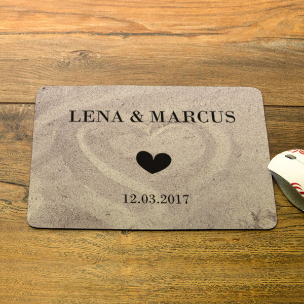 Personalisiertes Mousepad Anlass/Liebe