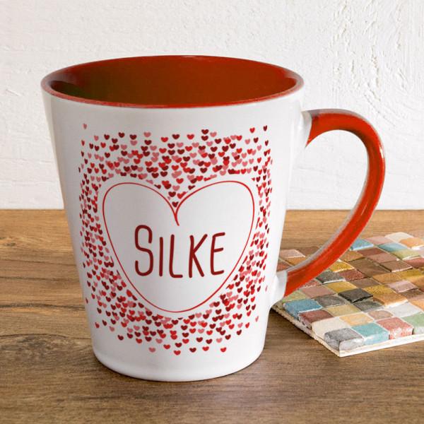 Tasse FUNNY Latte klein mit Wunschmotiv