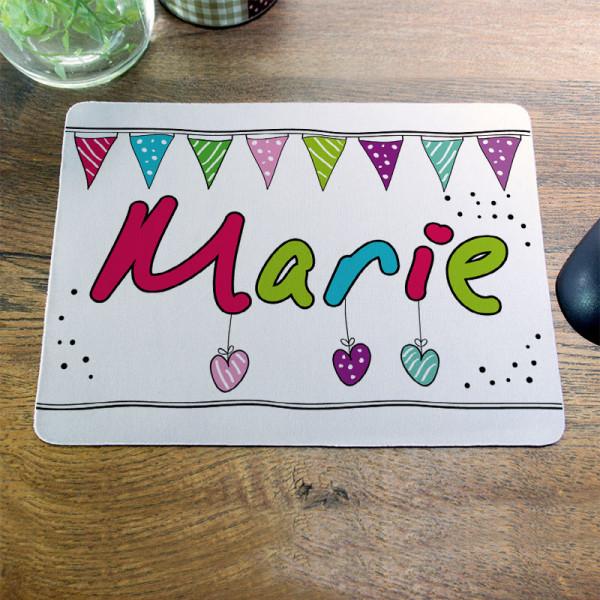 Personalisiertes Mousepad für Kinder
