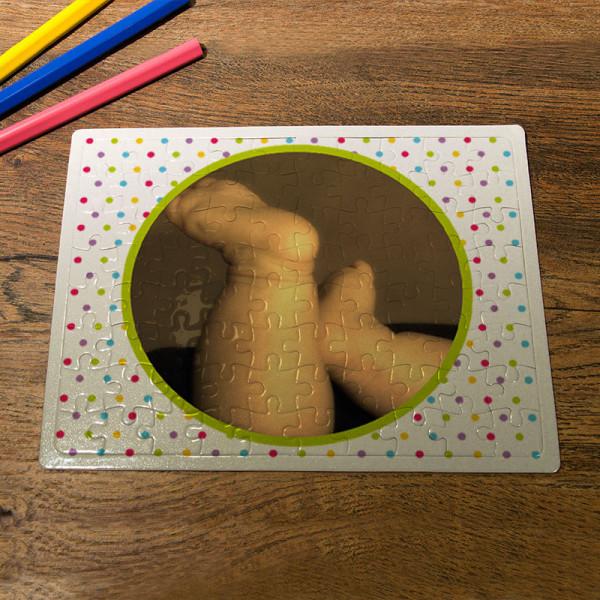 Puzzle DIN A5 mit Ihrem Wunschfoto zur Geburt