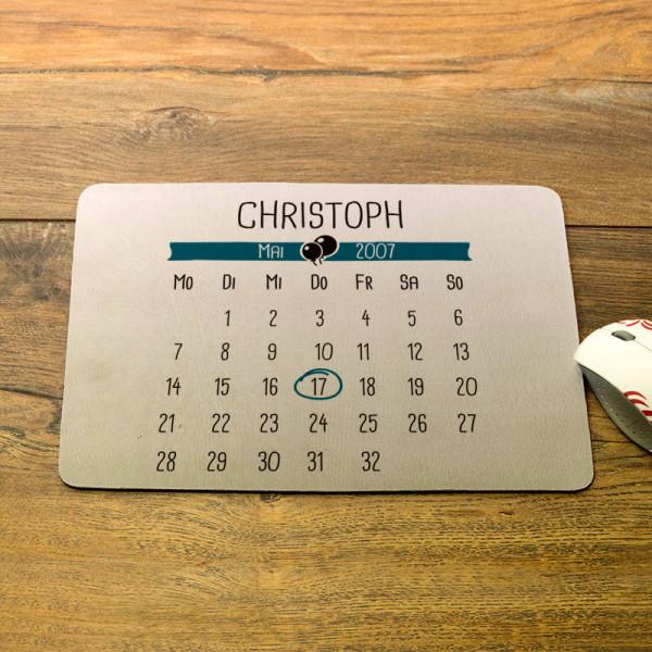 Mousepad mit Wunschmotiv zum Vatertag