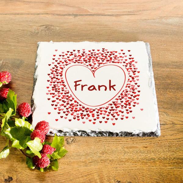 Granitplatte mit Wunschmotiv für Männer