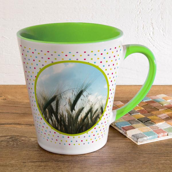 Tasse FUNNY Latte klein zum Geburtstag mit Ihrem Lieblingsmotiv