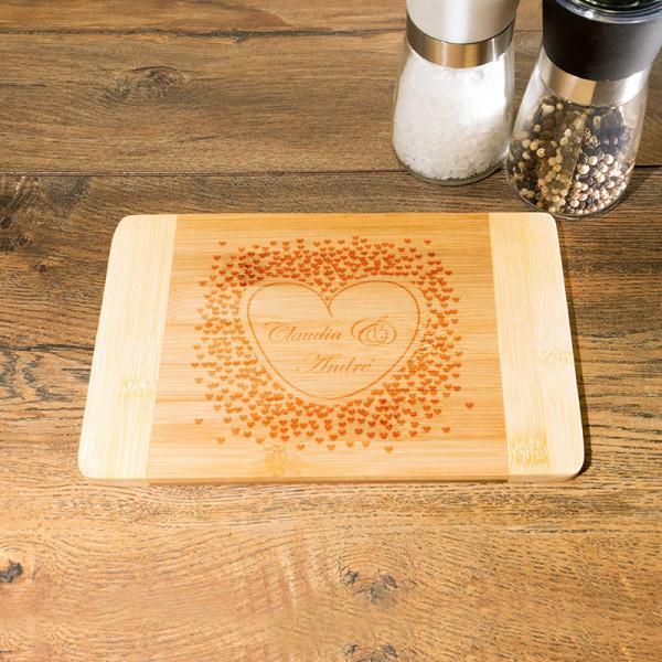 Frühstücksbrettchen mit Wunschmotiv Anlass/Liebe