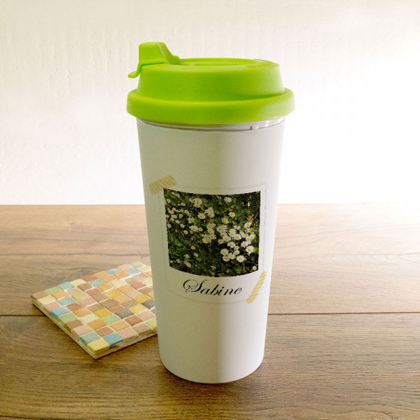 Personalisierter Trinkbecher zum Muttertag
