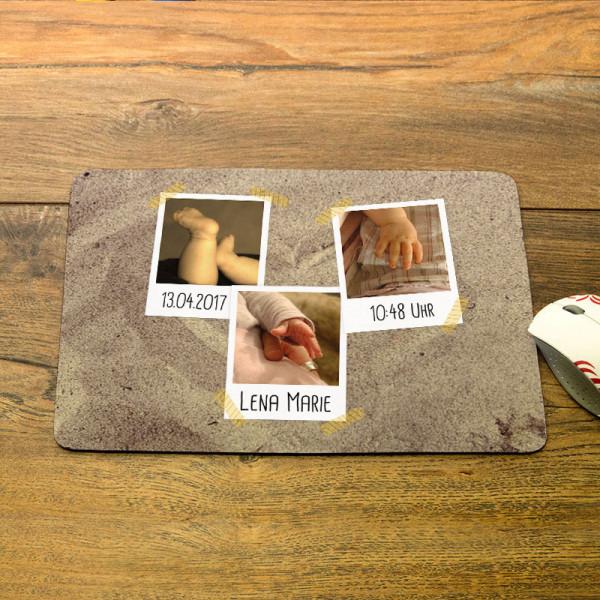 Mousepad mit Wunschfotos für Kinder