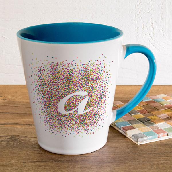 Tasse FUNNY Latte klein mit Wunschmotiv für Männer