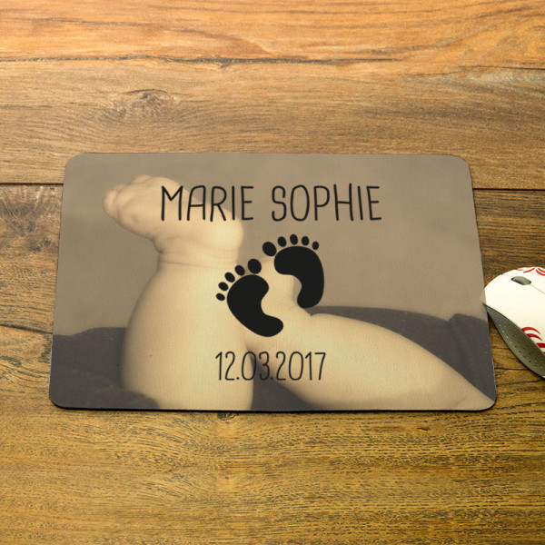 Mousepad mit Wunschmotiv für Kinder