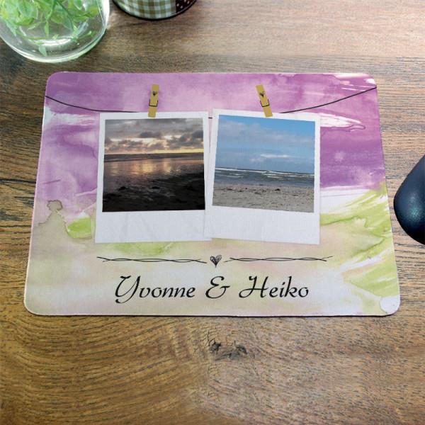Personalisiertes Mousepad mit Fotomotiv