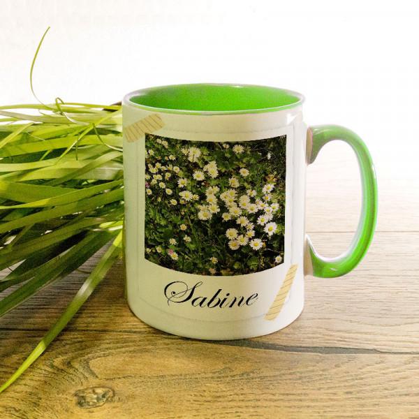 Tasse mit Wunschmotiv für Frauen