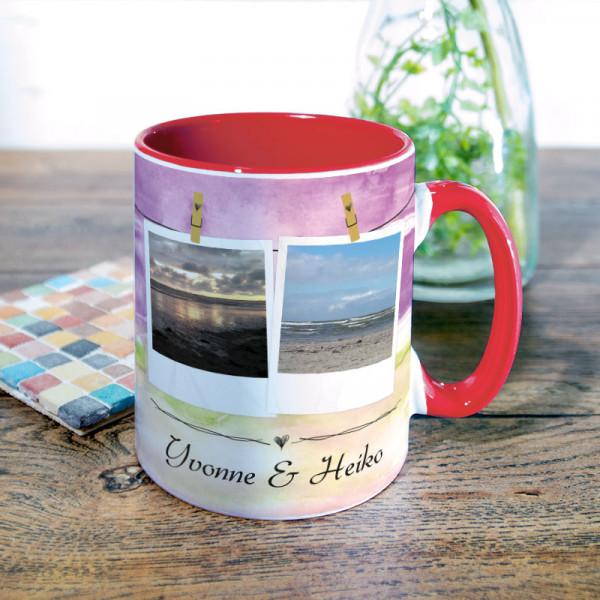 Tasse mit Wunschmotiv zur Hochzeit