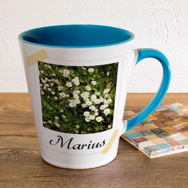 Personalisierte Tasse FUNNY Latte klein zum Geburtstag